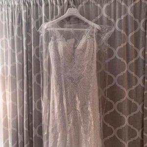 Wedding Dress (ROSA CLARA) Un-Altered
